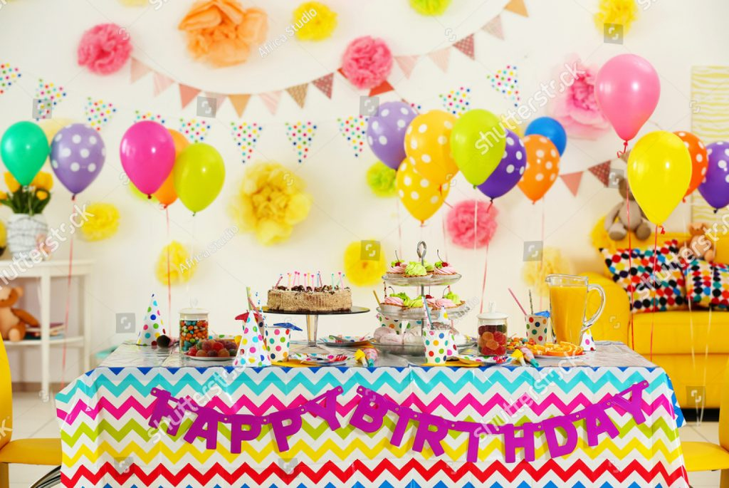 Birthday Party Rooms