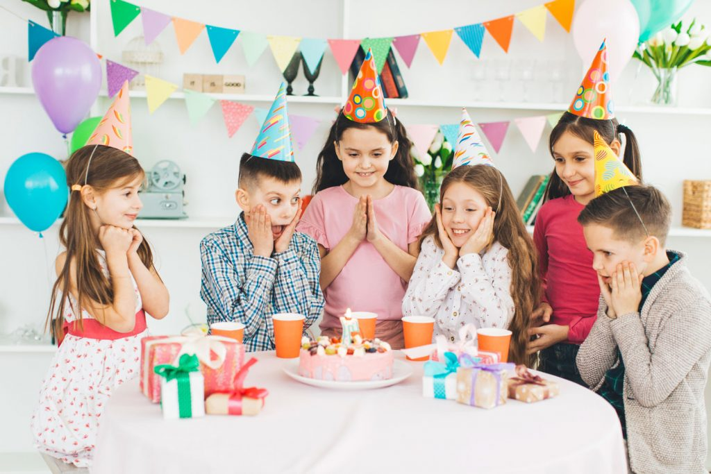 kids birthday party places near me